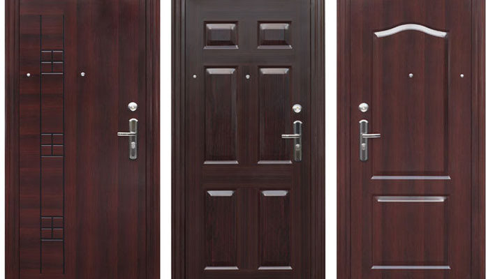 Типология входных дверей