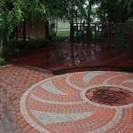 Садовые дорожки из клинкерного кирпича