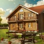 Из чего построить деревянный дом