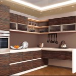 Кухни из шпона: плюсы и минусы