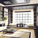 Интерьер в японском стиле – строгость и гармония
