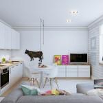 Три мифа о дизайне интерьера маленькой квартиры