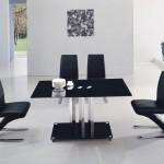 Черный стеклянный стол: модная тенденция в дизайне