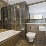 Оригинальный и интересный дизайн ванной комнаты