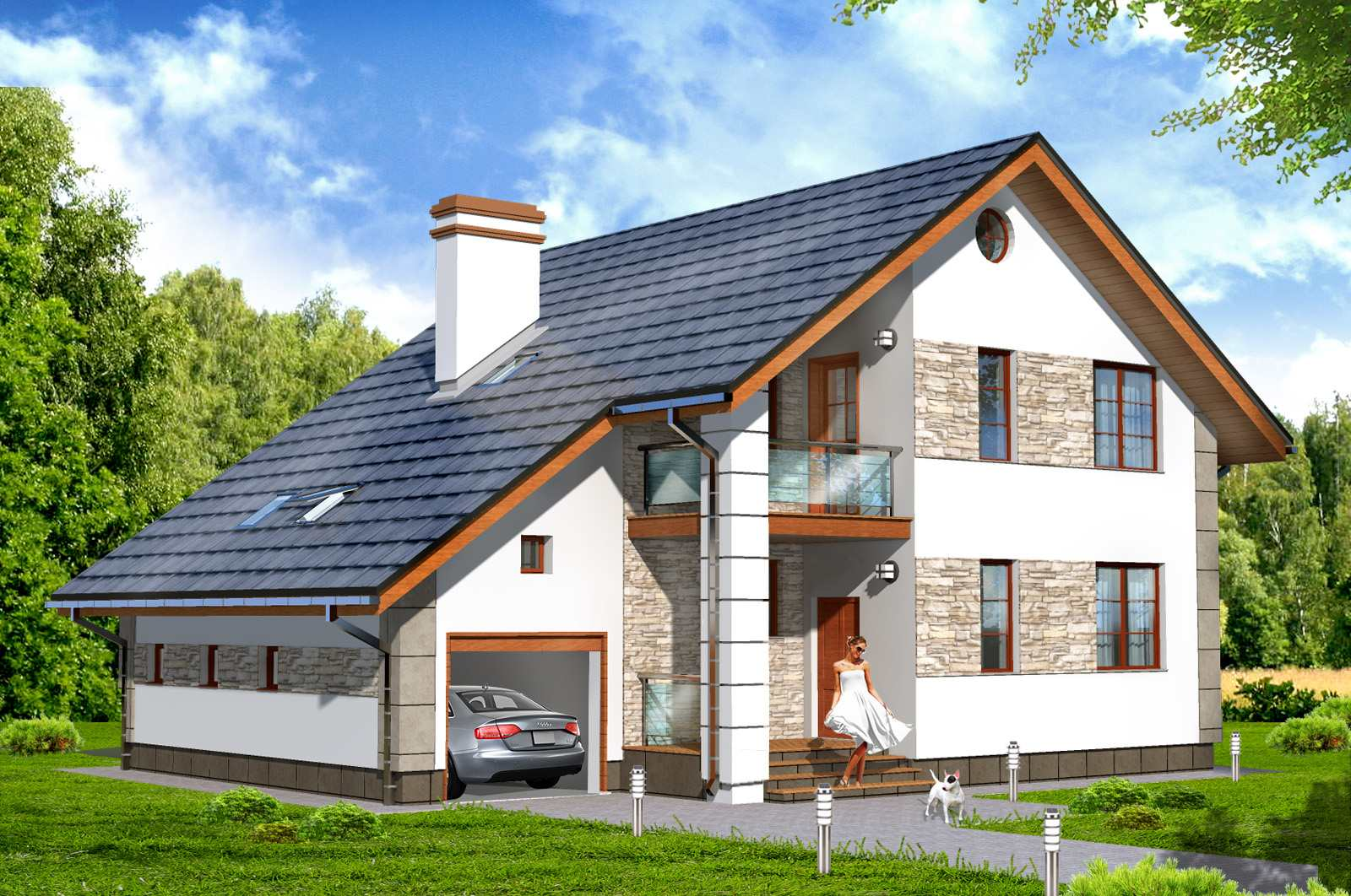 готовые проекты домов смотреть фото этого