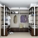 Как правильно спланировать гардеробную?